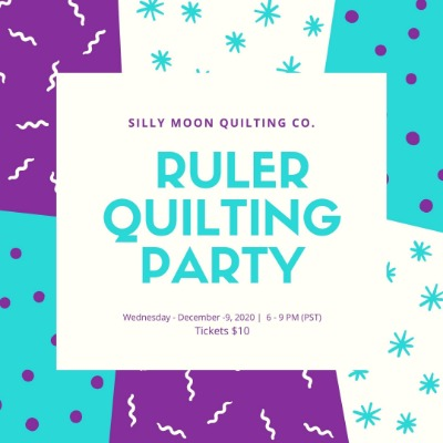 Ruler Quilting Party