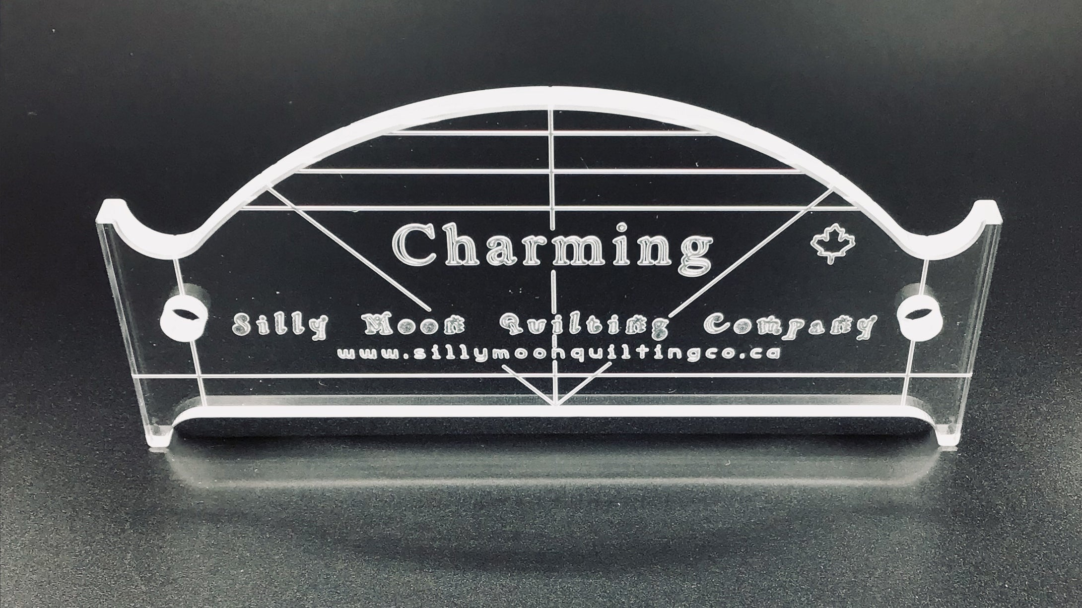"Charming - 1/4"" or 1/8"