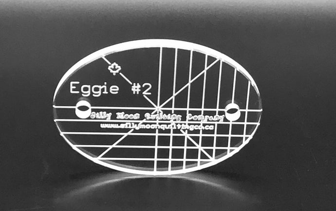 "Eggie #2- 1/4"" or 1/8"