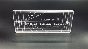 "Edgie 6 - 1/4"" or 1/8"" Thick Clear Acrylic"
