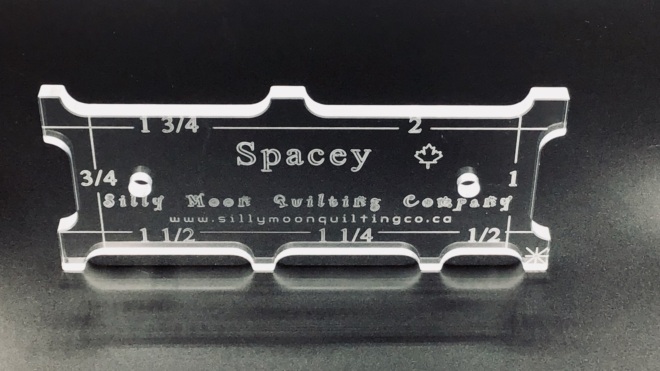 "Spacey - 1/4"" Thick"