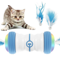 Interactive Feather Toy