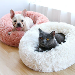 Faux fur Donut Bed