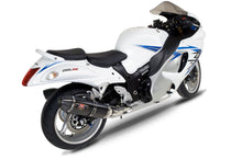 Load image into Gallery viewer, Yoshimura HAYABUSA 08-20 R-77 Stainless Slip-On Exhaust, w/ Carbon Fiber Mufflers Dual