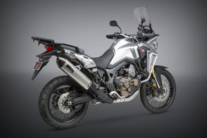 Yoshimura exhaust  Africa Twin 2016-19 Street RS-4 SO SS-SS-CF Works Finish