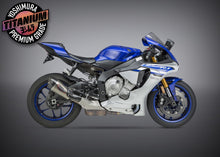Load image into Gallery viewer, Yoshimura YZF-R1/M/S 15-20 ALPHA T SLIP-ON TITANIUM EXHAUST, W/ TITANIUM MUFFLER