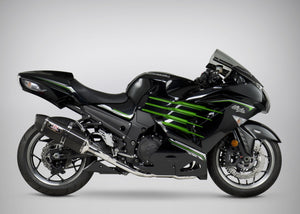 Yoshimura exhaust ZX-14R/ABS 2012-19 RACE R-77 FS SS-CF-CF