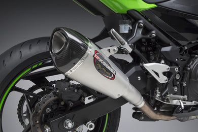Yoshimura exhaust NINJA 400 18-19 / Z400 2019 Street ALPHA T SO SS-SS-CF Works Finish