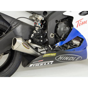 PREORDER Hindle Yamaha R6 2006-2020 Megaphone Evo Assembly, Satin SS
