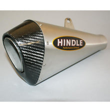 Load image into Gallery viewer, Hindle exhaust GROM 2017-2020 Evo Megaphone System Satin SS, W/Carbon Tip