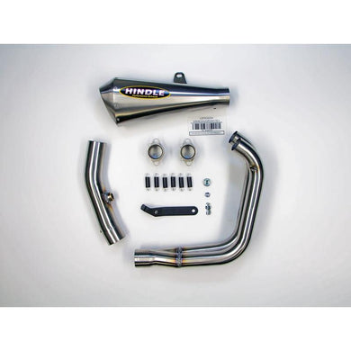 Hindle exhaust R3 2015-2019 Evo Megaphone System - Satin SS