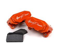 Load image into Gallery viewer, Agency Power Big Brake Kit Front and Rear Orange Maverick X3 Turbo