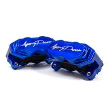 Load image into Gallery viewer, Agency Power Big Brake Kit Front and Rear Blue Ice Maverick X3 Turbo