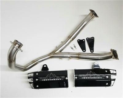 Empire Industries Suzuki DRZ 400 Full Dual Exhaust System