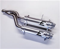 Empire Industries Outlander Stacked Dual Slip On Exhaust