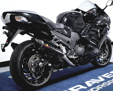 Load image into Gallery viewer, Graves Motorsports Kawasaki ZX14R 12-20  Carbon Fiber Cat Back Slip-on Exhaust