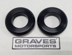 Graves Motorsports WORKS Kawasaki ZX-6R Front Wheel Captive Spacers Kit  19-20