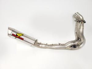 Graves exhaust  ZX-6R 2019  2015 -20 Full LINK Titanium / Titanium WORKS Exhaust