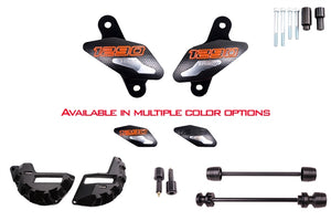 T-rex  No Cut Frame Axle Sliders Case Covers Bar Ends 1290 Superduke/R 14-20