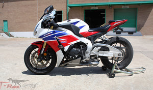 T-rex racing 2012 - 2016 Honda CBR1000RR No Cut Frame Front Axle Sliders Spools