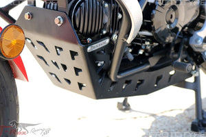 T-rex  Skid Plate + Adventure Engine Guard Crash Cages 17-20 Grom/MSX125
