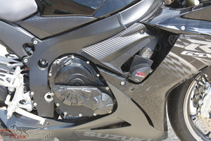 T-rex racing 2011 - 2018 Suzuki GSX-R600 / GSX-R750 No Cut Frame Front & Rear Axle Sliders Case Covers Spools