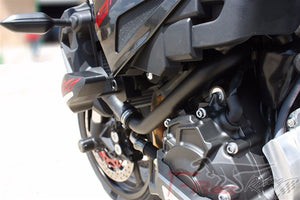 T-REX 2016 - 2019 Yamaha FZ-10 MT-10 No Cut Frame Front & Rear Axle Sliders Case Covers Spools