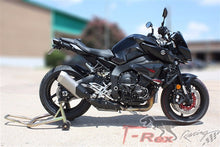 Load image into Gallery viewer, T-REX 2016 - 2019 Yamaha FZ-10 MT-10 No Cut Frame Front & Rear Axle Sliders Case Covers Spools