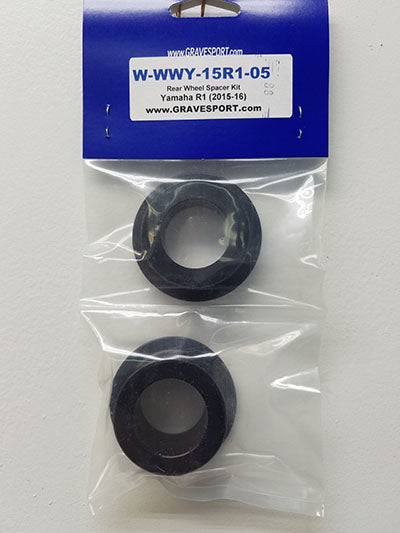 Graves Motorsports R1 WORKS Captive Rear Wheel Spacer Kit