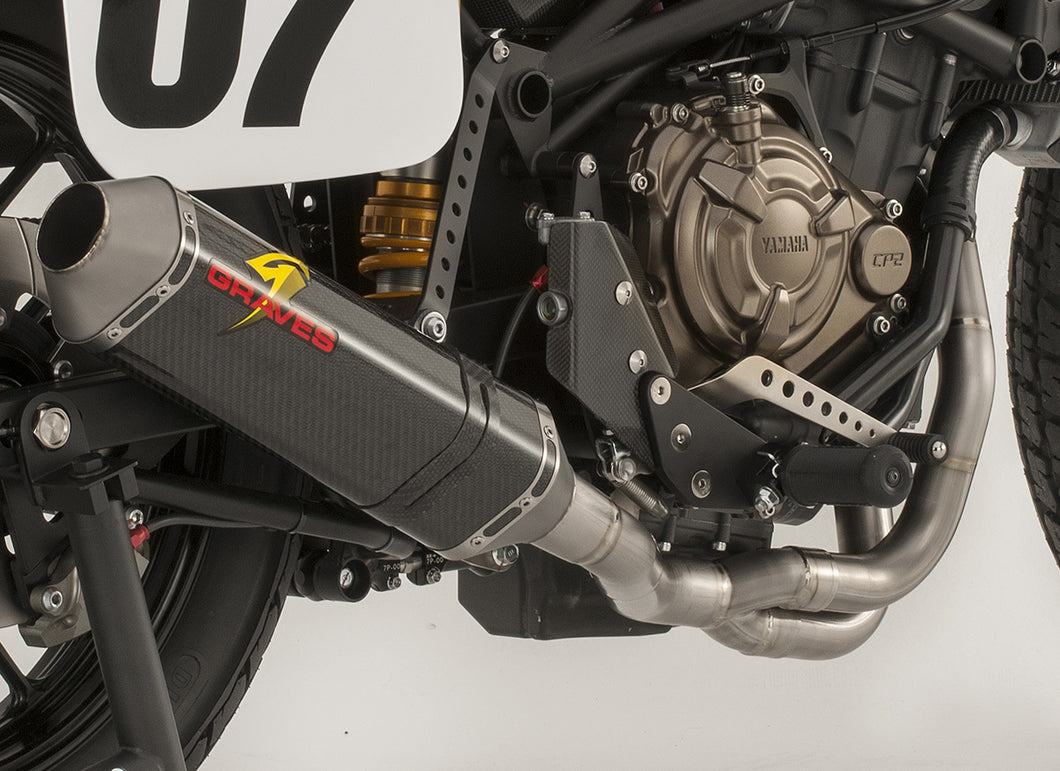 PREORDER Graves Motorsports Yamaha DT-07 Full Exhaust System EXY-16DT07-FTC