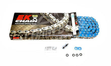 Load image into Gallery viewer, EK Chain 525 ZVX3 Series ZX-Ring Chain 120 Link Blue