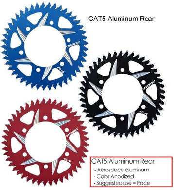 VORTEX ZX10R 04-19 KAWASAKI  CAT5 ALUMINUM 520 REAR SPROCKET 36-54