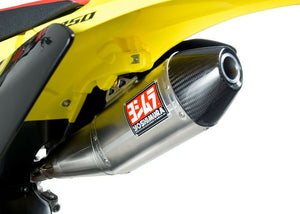 YOSHIMURA RS-4 RM-Z250 2010-18  HEADER/CANISTER/END CAP EXHAUST SLIP-ON SS-AL-CF 218312D320