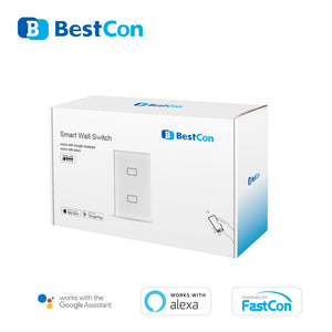 Light Switch TC2S 1 llave BestCon by Broadlink