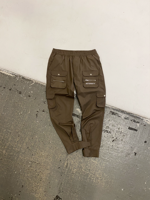 'FRONT POCKET' CARGO - BROWN