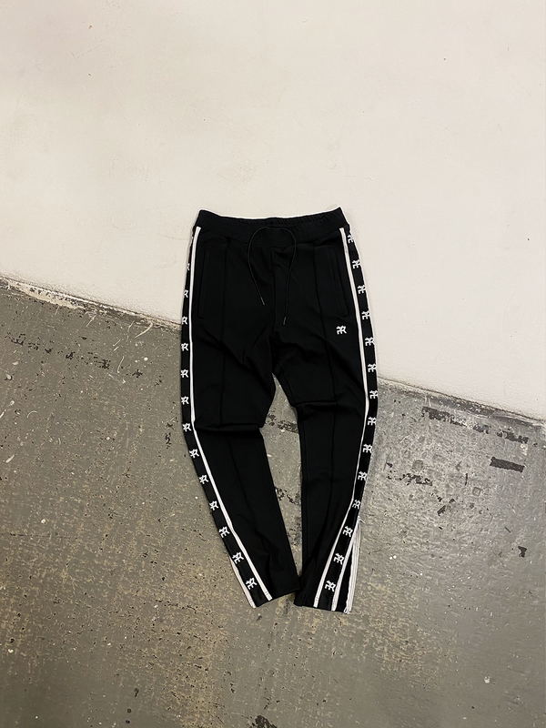 'RETERNITY' TRACK PANTS - BLACK