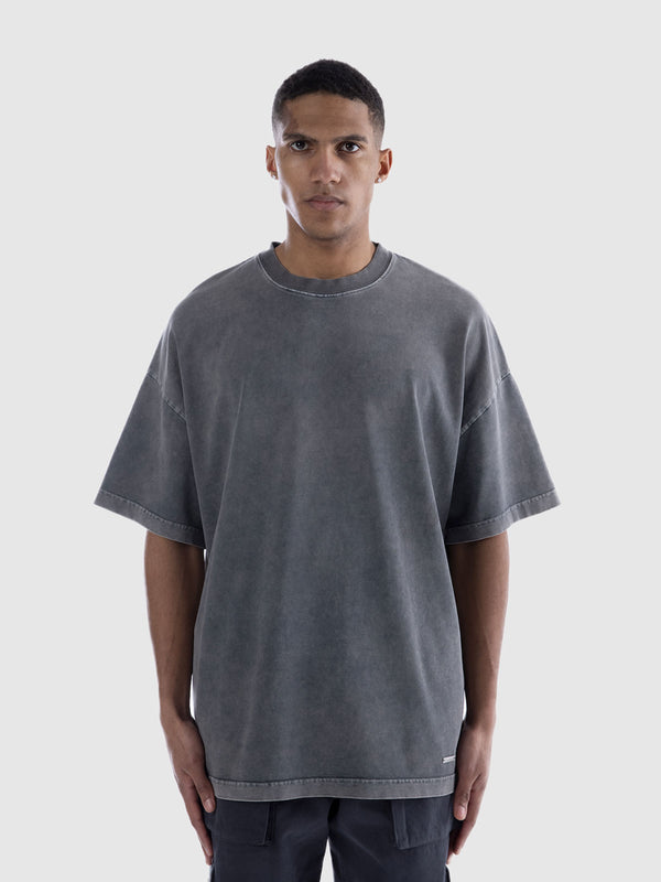 ESSENTIAL T-SHIRT - WASHED GREY