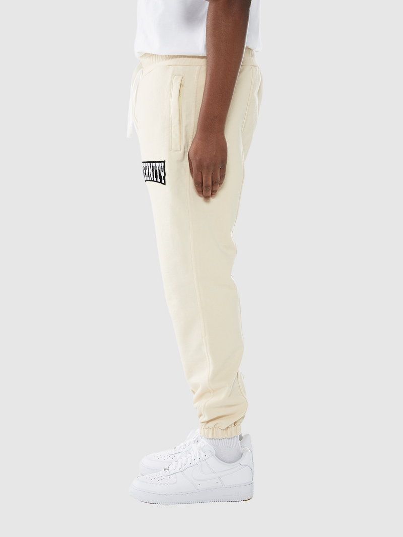 HEAVYWEIGHT JOGGER - CREAM WHITE