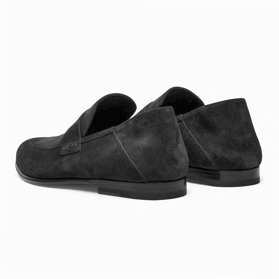 Edward Suede Dark Brown