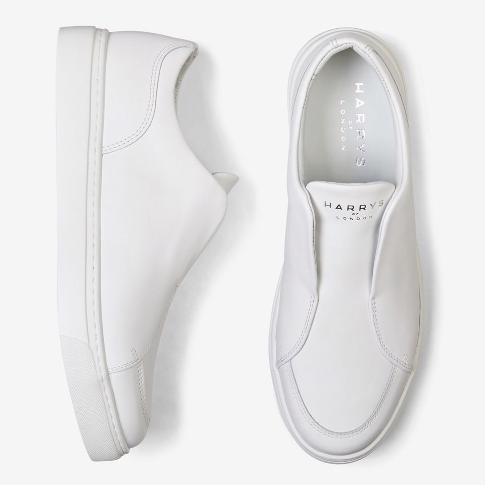 Eva Tech Leather White