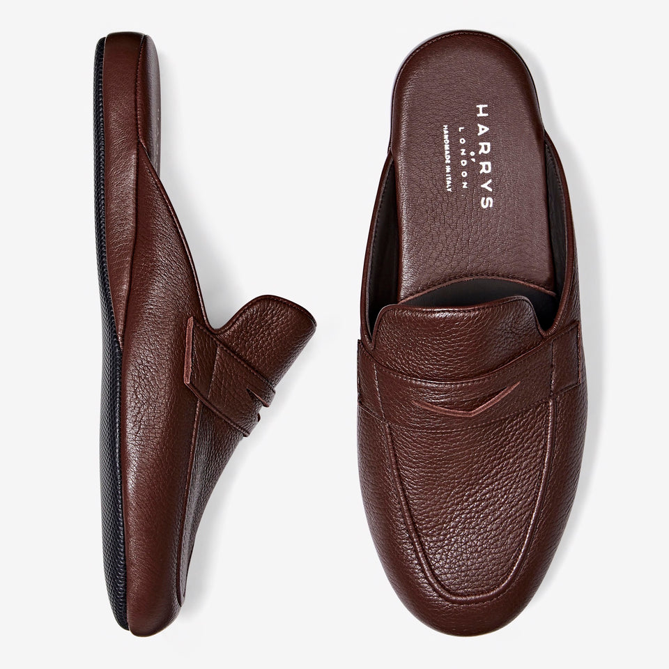 Howard Deerskin Dark Brown