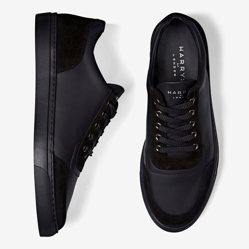 nimble-tech-leather-suede-black
