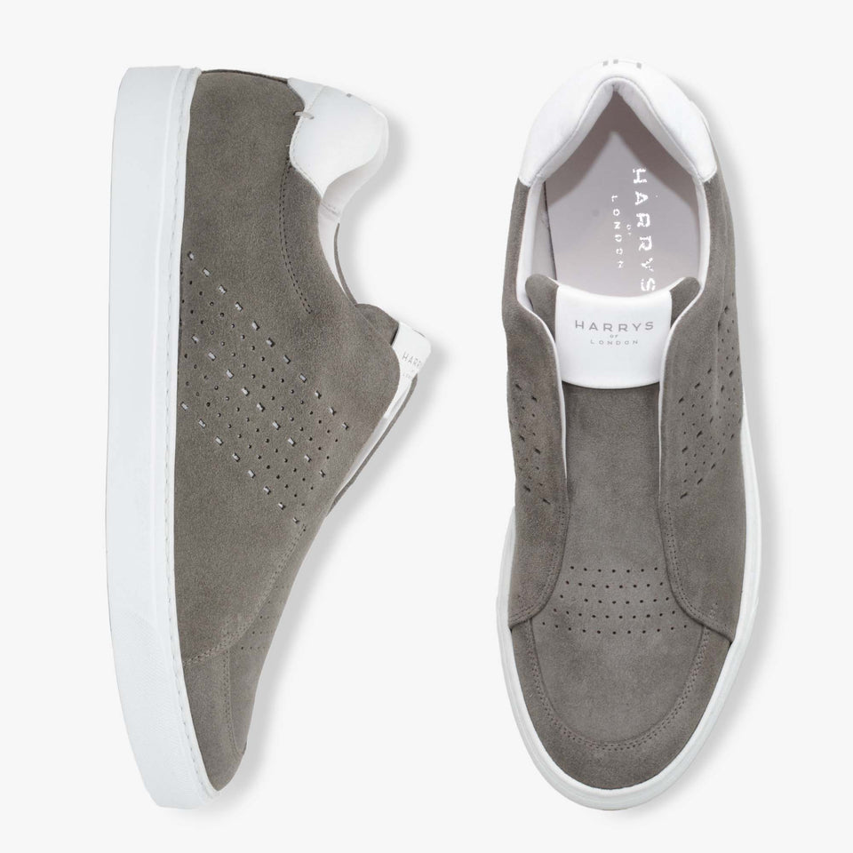 Track Suede/Tech Taupe