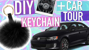 DIY Tumblr Keychain + My Car Tour! Subscribe for more DIY Tumblr Room Decor for Teens! Kylie Jenner Inspired Keychain! DIY Tumblr, DIY Kylie Jenner Pom ...