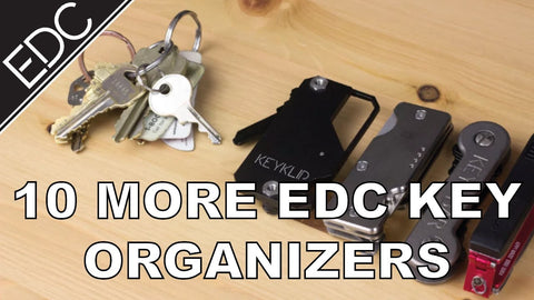 On today's video we'll be taking a look at 10 More Key Organizers for your EDC Check them out in our website: