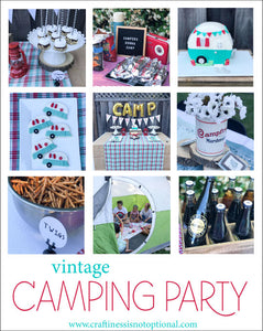 Charlotte's Camping party