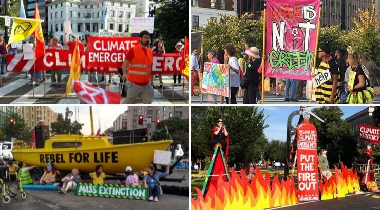 #ShutDownDC Protesters Successfully Shut Down DC to Demand Climate Action