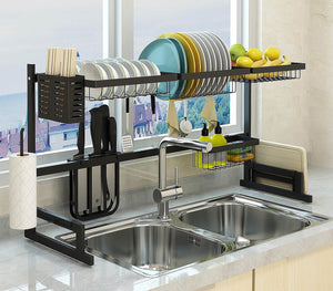 Home Key Over-the-Sink Dish Drying Rack