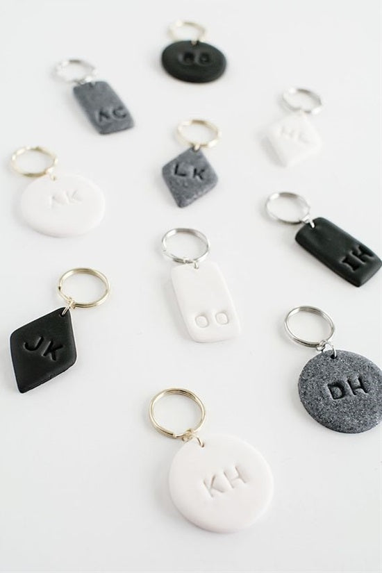 A DIY Keychain is an excellent and low-cost gift for any member of the family or friend