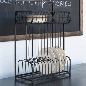 Luxurious Hanging Plate Rack